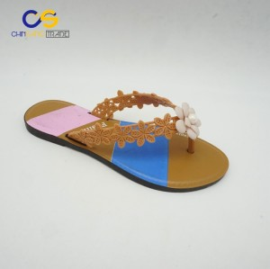 Summer outdoor women flip flop with good quality