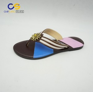 2017 hot sell fashion air blowing women flip flops with good quality