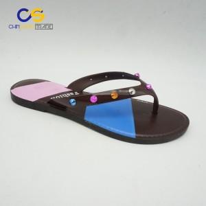 Summer outdoor durable women flip flops from Wuchuan
