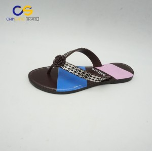 Promotional PVC women flip flops with good quality