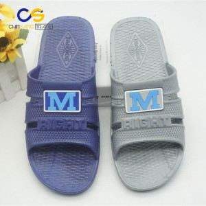 Casual air blowing men slipper shoes summer home slipper for men