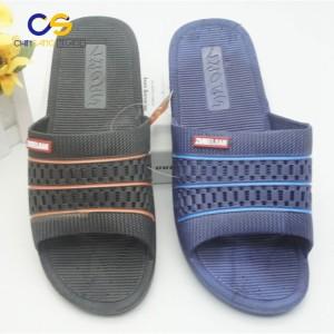 Low price air blowing indoor bedroom house slipper for men