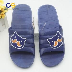 Summer indoor bedroom PVC slide sandals for men