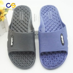 Soft air blowing men indoor slipper bathroom washable slipper for men