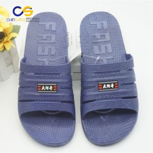 Factory supply PVC men slipper indoor bedroom slide sandals for men