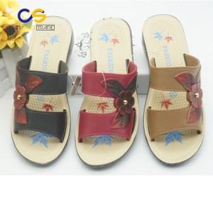Durable PVC women slipper sandals outdoor lady garden shoes