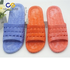 Casual women indoor bedroom slippers washable women slipper with holes