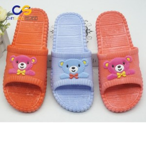 Cartoon women indoor slipper bedroom washable slipper for lady