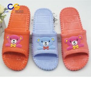 Cartoon women indoor slipper bedroom washable slipper for lady
