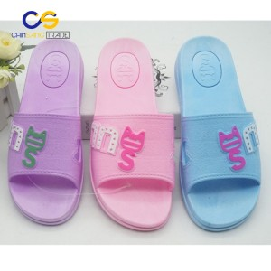 Factory supply air blowing women house slipper shoes