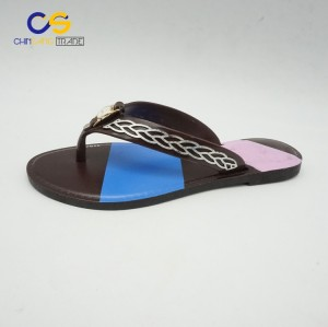 Chinsang trade PVC women outdoor slipper shoes