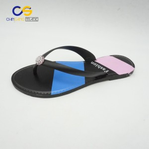 Simple casual outdoor women slipper summer slipper for lady