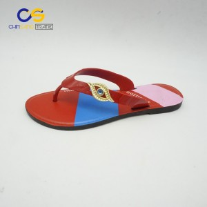 Popular summer women flip flops with good performance