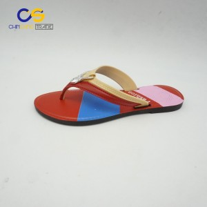 Stock PVC flip flop slipper for women outdoor fashion women flip flops