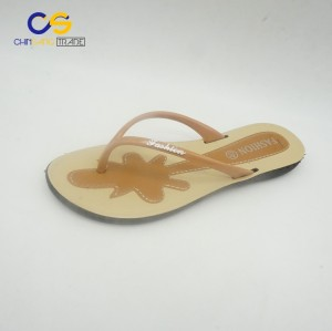 Simple summer women flip flop slipper with low price