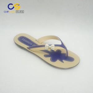 Casual women outdoor beach women slippers fashion flip flops for lady