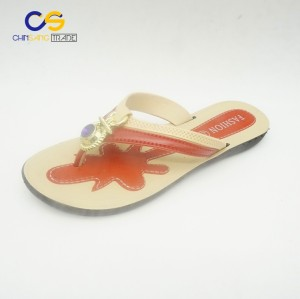 New arrival PVC women outdoor flip flops from Wuchuan