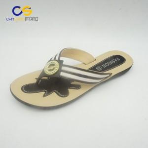 High quality women flip flop slippers outdoor summer flip flops for lady