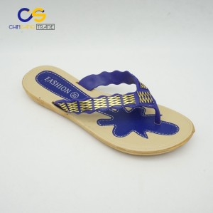 Hot selling summer outdoor flip flops for women