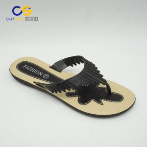 Low price air blowing women flip flops with good quality