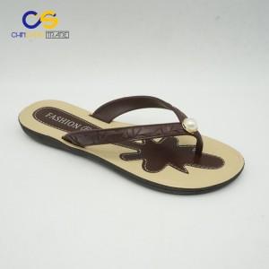 Simple women summer outdoor beach flip flop slippers