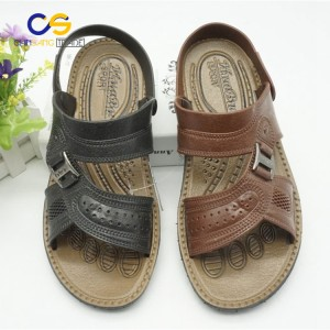 Wholesale cheap PVC garden shoes outdoor men slipper sandals from Wuchuan