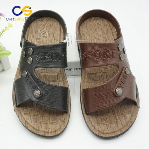 Promotional air blowing men slipper sandals with good quality