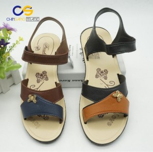 Factory supply PVC women sandals outsole air blowing sandals for old lady