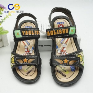 Hot sale PVC boys sandals outdoor beach sandals for school boys
