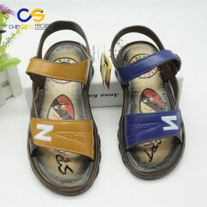 High quality PVC summer boy sandals outdoor comfort sandals for school boys