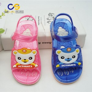 Fancy indoor outdoor kids sandals summer durable sandals for girls and boys