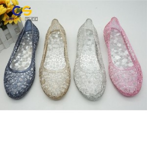 Jelly women summer sandals durable garden shoes for lady