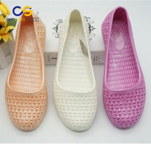 Hot selling PVC women shoes factory price lady garden shoes
