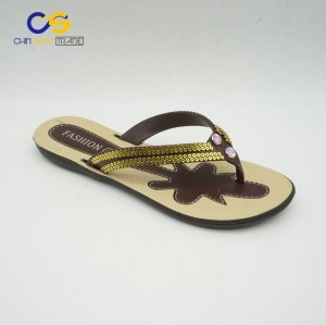 Indoor outdoor beach women slipper shoes durable flip flops for lady