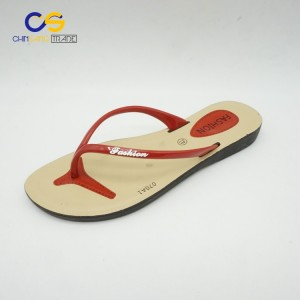 Women indoor outdoor beach flip flops PVC slipper shoes for women