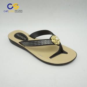 Chinsang trade women flip flops summer fashion flip flops for lady