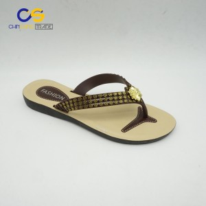 Hot selling air blowing PVC women flip flops from Wuchuan