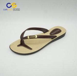 Simple women flip flop shoes 2017 summer fashion slipper shoes