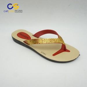 Cheap women slipper shoes low price PVC flip flops for women