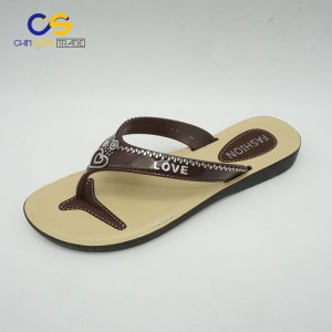 Hot selling women flip flops summer fashion slipper shoes for women