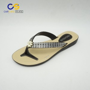 2017 hot selling air blowing women flip flops with factory supply