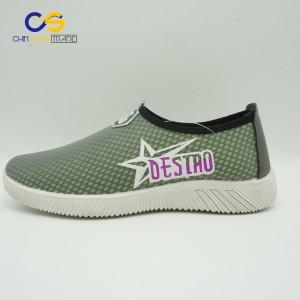 2017 new design casual flat women sports shoes comfortable walking shoes for women