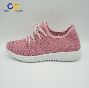 2017 new design women jogging sport shoes comfortable running shoes for women