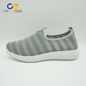Bright color lightweight women walking shoes air sport shoes for women