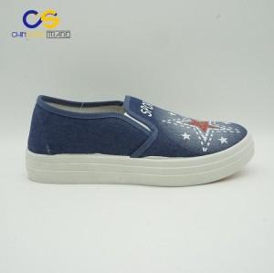 Stock flat PVC women sport shoes soft walking shoes for women
