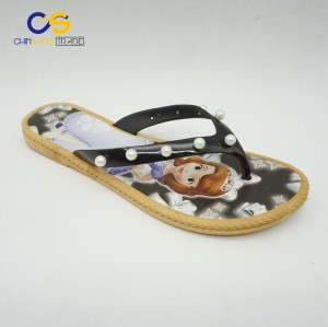New design air blowing women flip flops summer fashion slipper for lady