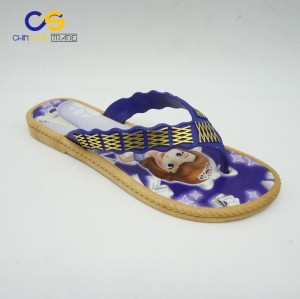 Wholesale price PVC women flip flops durable slipper shoes for women