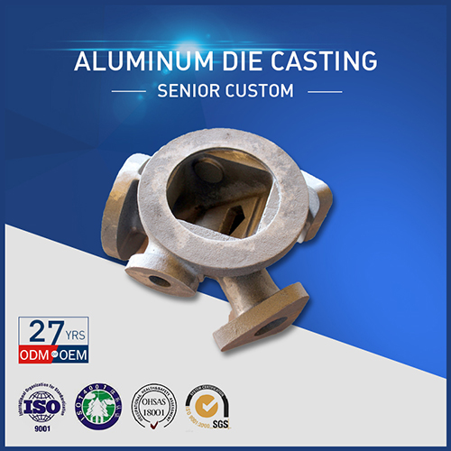 CNC Processing Aluminum Die Casting Building Hardware Items Supply