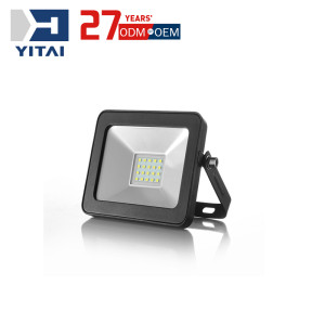 Yitai Mould Design Outdoor Die Casting Aluminum Alloy Empty LED Flood Light Enclosure