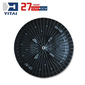 Yitai Customized CNC Machining Aluminum Alloy Die Casting Industrial UFO LED High Bay Light Housing Mould Design